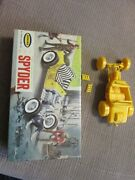 The Spyder Ford T Dragster Aurora Toy Model Kit 535-49 Made In Usa 1963