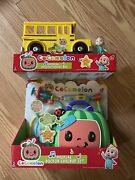 Cocomelon Musical Jj Figure Yellow School Bus Musical Doctor Dr. Checkup Set Lot