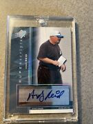 2004 Andy Reid Upper Deck Sp Authentic Superscripts Auto Rare
