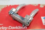 Harley Davidson Pull Back 4and039and039 Clamp Riser 1and039 Bars Softail Dyna Sportster