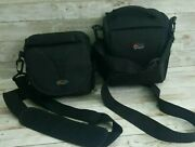 2 Lowepro Camera Bags Format 140 And Smaller One Black