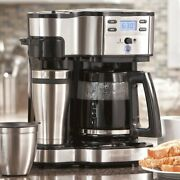 Hamilton Beach 12-cup The Scoop Two Way Coffee Maker