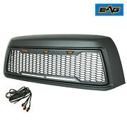 Eag Fit 10-13 Toyota Tundra Grille Replacement Upper Honeycomb With Led Lights