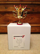 Extremely Rare Nintendo Mario Kart 7 Special M Cup Trophy Figurine Statue