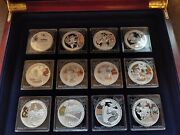 30 Silver Coins - Beijing 2008 Olympic Games