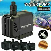 400/550/800/1200 Gph Submersible Water Pump Aquarium Hydroponic Fountain Pond