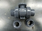 """New Hayward Tbh Actuator Ready 1.5"""" Ball Valve Tbh1150astvk000 Free Shipping"""