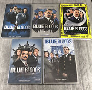 Lot Of 5 Blue Bloods Dvd's Season 1,2,3,4,6. First, Second,third,fourth, Sixth