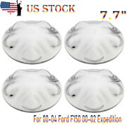 4pcs 7.7 Hub Cap Cover Center Hubcaps For 00-04 Ford F150 00-02 Expedition