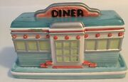 Department 56 Butter Dish Retro Diner