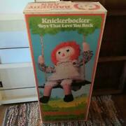 Knickerbocker Ithe Original Raggedy Ann The Doll With A Heart 35 Inches