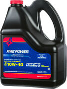 Fire Power 196985 Racing Ester Fortified Full Synthetic Motor Oil 10w-40
