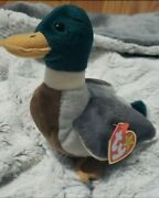 Ty Jake The Duck Beanie Baby Vintage Mint Collectors Item 1997 Nwt