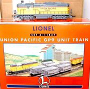 Lionel 11837 Gp-9 2397 And 6 Silver Uranium Ore Dc Stdo Cars And Bw Caboose 6517
