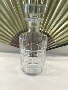 Rare Doral Eastern Open Golf Prize Crystal Decanter By Baccarat