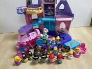 Wow Fisher Price Little People Disney Princess Musical Dancing Palace Castle