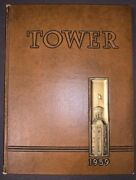 1959 Wheaton College Yearbook The Tower. Wheaton Illinois. With Wes Craven