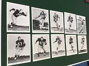Vintage 1960andrsquos Green Bay Packers Team Issued Glossy Photos