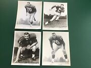 Vintage 1960's New York Giants Team Issued Glossy 8 X 10 Photos
