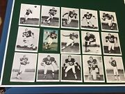 Vintage 1960's Cleveland Browns Team Issued Glossy Photos