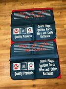 Vintage Nos Advertising Ac-delco 1970and039s Fender Covers Service Corvette Camaro