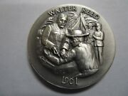 Sterling Silver Dr. Walter Reed 1901 Round Coin Commemorative