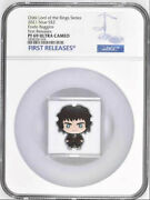 2021 Niue Chibi Lord Of The Rings Frodo Baggins 1oz Silver Proof Ngc Pf69 Uc Fr