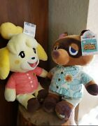 Animal Crossing X Build A Bear Tom Nook And Isabelle Phrases Bundle