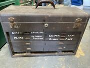 Vintage Kennedy Machinist Tool Box Style No. 520