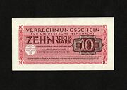 Germany, 10 Reichmark, Pm40, 1944, Clearing Notes For German Armed Forces