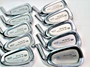 Perfect 10pc Miura Cb-3002 Dent Sole Head Only Irons Set Golf Parts Nwo