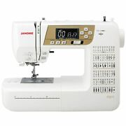 Janome Jn831 Computer Sewing Machine Hard Cover Wide Table Foot Controller