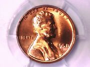 1958 D Lincoln Wheat Cent Penny Pcgs Ms 65 Rd 30719992