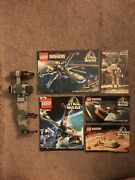 Lego Star Wars B-wing 7180 And Instruction Manuals