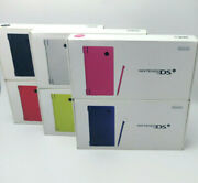Nintendo Dsi Japan Import Complete Cib Console Us Seller Pick Your Color Tested