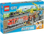 Lego City 60098 Heavy-haul Train Model Toy For Children 6 To 12 Unisex