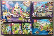 6 Lego Friends Baking Competition Vet Helicopter Buggy Hair Salon Olivia Garden