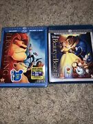 Beauty And The Beast Blu-ray 5-disc Set Diamond Edition And The Lion King