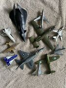 11-cast Iron Toy Airplanes