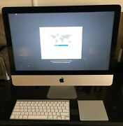 Imac 21.5-inch, Apple Wireless Keyboard And Touch Mouse. Condition Is Used