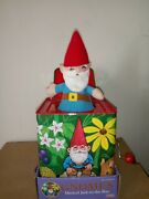 Schylling Gnomes Musical Jack In The Box 2006 Discontinued / Retired/unavailable