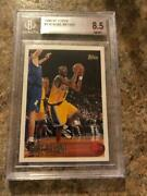 1996-97 Topps 138 Kobe Bryant Rookie Card 8.5 Nm-mt+ 9 8 9 9 Most Wanted