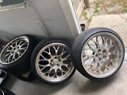 Ccw Sp20a Wheels 19's Great Shape Fully Polished 5x114.3 Squared