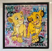 Emily Crook - And Princess Lion King Framed - In Stock