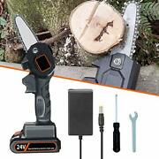 Cordless Chainsaw Electric Handheld Chainsaw With Battery Rechargeable Mini