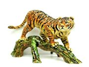 Jay Strongwater Tiger On Branch Figurine Sdh1893274 New With Tag