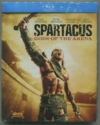Spartacus Gods Of The Arena + Blood And Sand Blu-rays New And Sealed