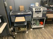 Epson Surecolor F2100 W/ Pretreatmaker Iv W/ 2 Platens For Adult And Youth Sizes