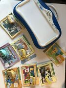 Leap Frog Little Touch Leap Pad And 7 Books With Cartridges
