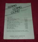 Vintage Evergreen Tractor Company Used Equipment Special Sale List Lebanon Pa